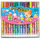 Mungyo Twist up crayons-16 assorted colors