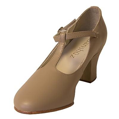 Theater T-Strap Black Dance Shoe Danshuz