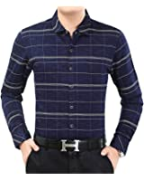 Special Beauty Handsome,Slim NEW new male fashion brand casual business slim fit men shirt camisa long sleeve plaid social shirts dress clothing Cool