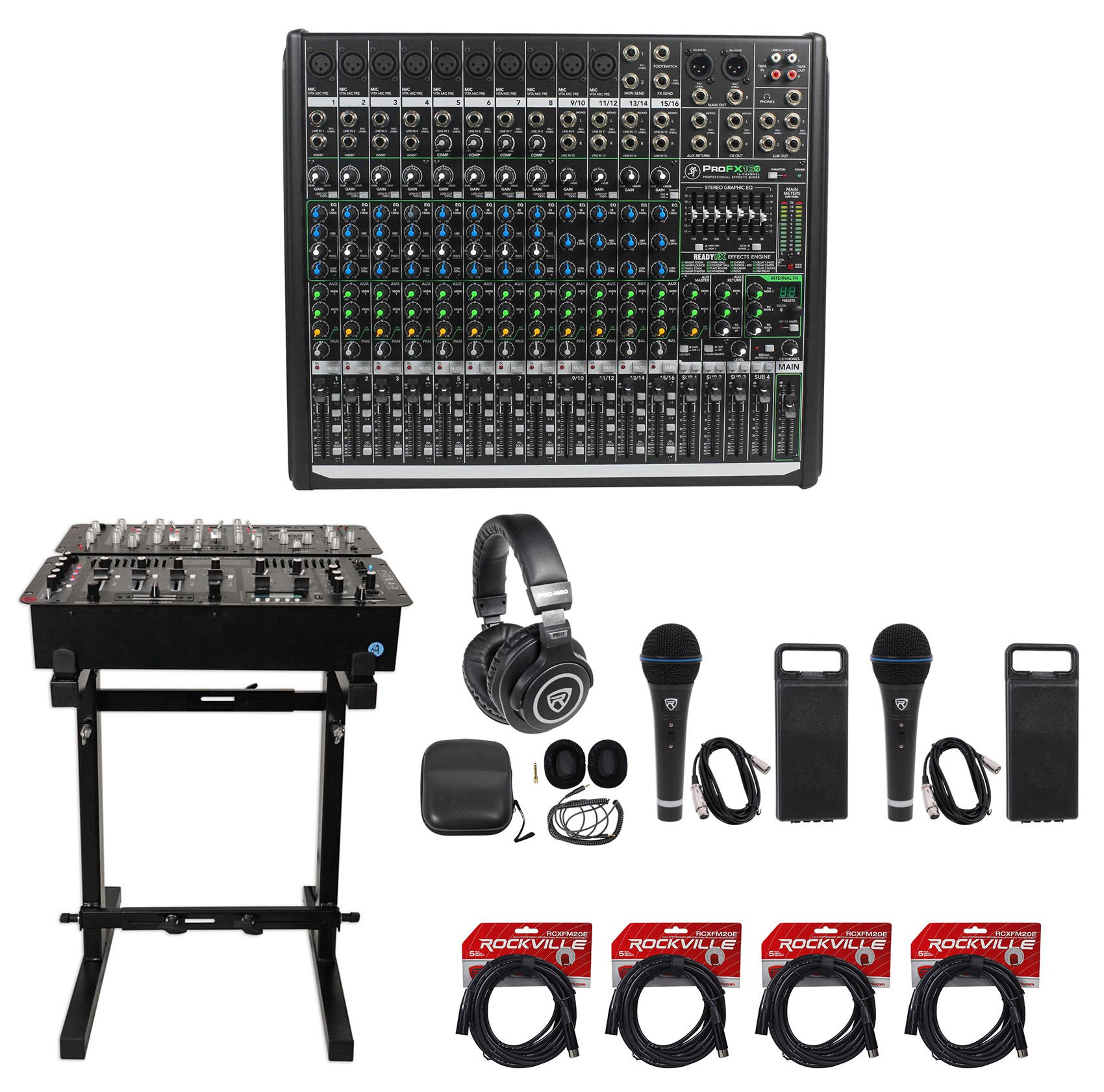 Mackie PROFX16v2 Pro 16 Channel 4 Bus Mixer w Effects and USB PROFX16 V2+Stand by Mackie (Image #1)