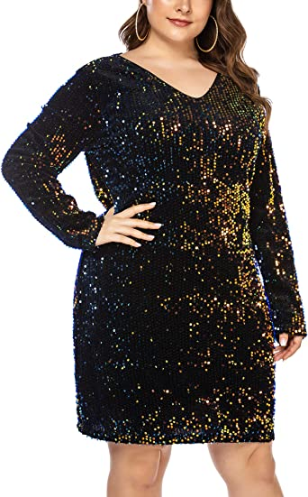 WOMENS COLD SHOULDER SPARKLY GLITTER BODYCON EVENING PARTY DRESS SIZE 12 14