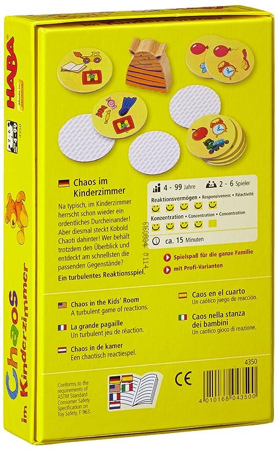 Haba 4350 - Chaos im Kinderzimmer, Reaktionsspiel: Amazon.de: Spielzeug