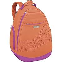 Wilson mochila de tenis, color Naranja, Único
