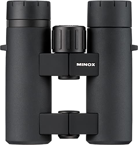 MINOX Comfort Bridge 62197 BL 8×33 BR Mid-Size Waterproof Binocular Black