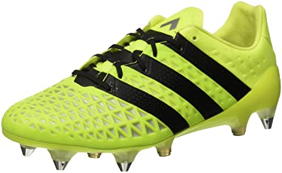 los angeles c02b3 24382 adidas Ace 16.1 Sg, Entraînement de football homme, Jaune (Solar YellowCore