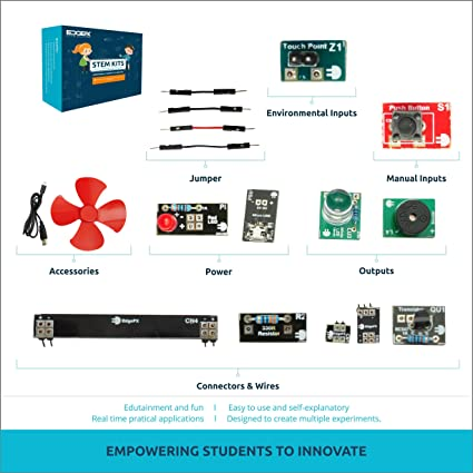 Buy edgefx 15 in 1 electronic learning projects diy kit for students edgefx 15 in 1 electronic learning projects diy kit for students 8 years onwards solutioingenieria Gallery