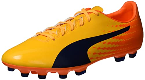Puma Evospeed 17.2 AG, Botas de Fútbol para Hombre, Amarillo (Ultra Yellow-Peacoat-Orange Clown Fish 03), 40.5 EU