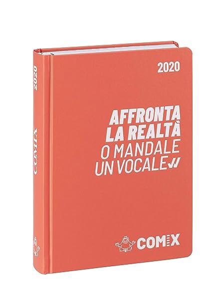 Agenda Comix 16 m mini coral blanco 60898H: Amazon.es ...
