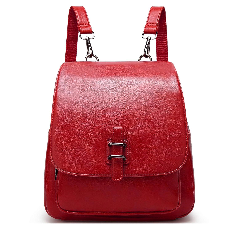 LoZoDo Women Backpack Shoulder Purse Black Rucksack Casual Daypack School Bag for Girls FYSB0325US-Black