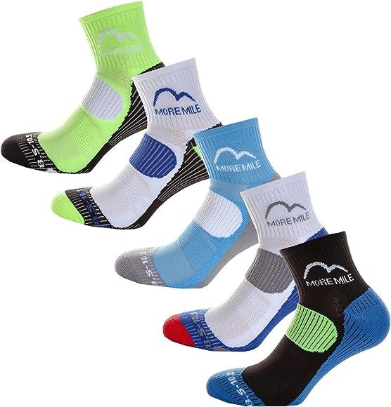 Pair Pack) Mens Cushioned Running Socks