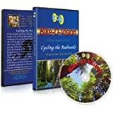 Bike-O-Vision - Virtual Cycling Adventure - Cycling the Redwoods - Perfect for Indoor Cycling and Treadmill Workouts - Cardio Fitness Scenery Video (Widescreen DVD #18)