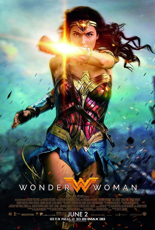 Amazon.com : Wonder Woman Movie Poster Limited Print Photo Gal Gadot, Chris  Pine Size 27x40 #2 : Everything Else