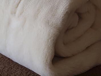 CACHEMIRE MERINO PLAID COUVERTURE EN PURE LAINE VIERGE MERINO CASHMERE  WOOLMARK (250x200cm) 63d92020b59