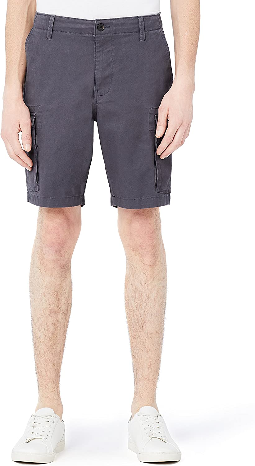 Amazon Brand - Meraki Men's Cotton Cargo Shorts