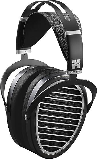 with High HIFIMAN SUNDARA Over-Ear Full-Size Planar Magnetic Headphones Black