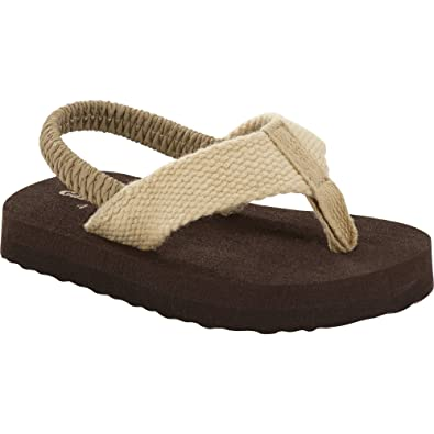 4c44d9df796d Amazon.com  Garanimals Infant Boys  Thong Sandal Beige   Brown  Shoes