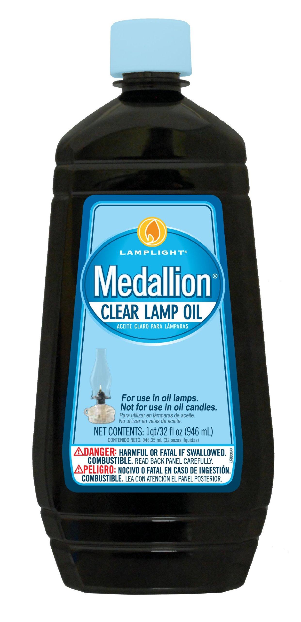 Lamplight Medallion Lamp Oil - 32oz by Lamplight