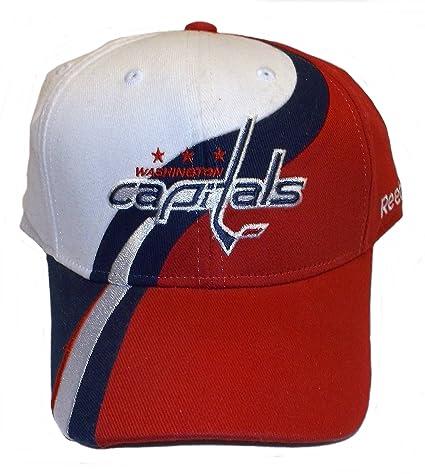 6581dfeffce Image Unavailable. Image not available for. Color  Reebok Washington  Capitals Flex Fit Swoosh Hat ...