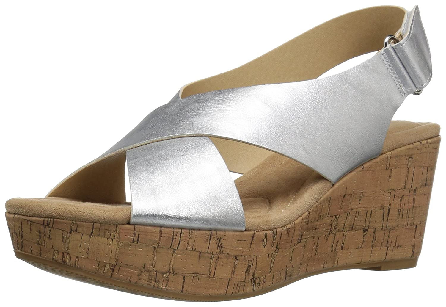 b0fc34749 CL by Chinese Laundry Women s Dream Girl Metall Wedge Sandal