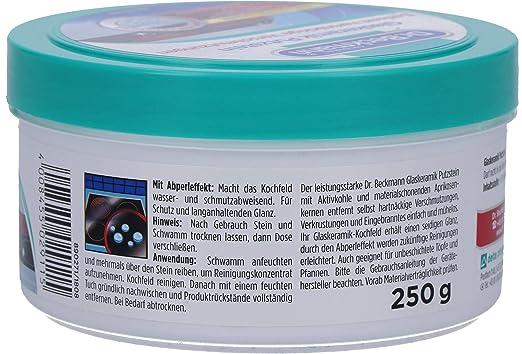Amazon.com : Dr. Beckmann Glaskeramik Putzstein 250 g ...