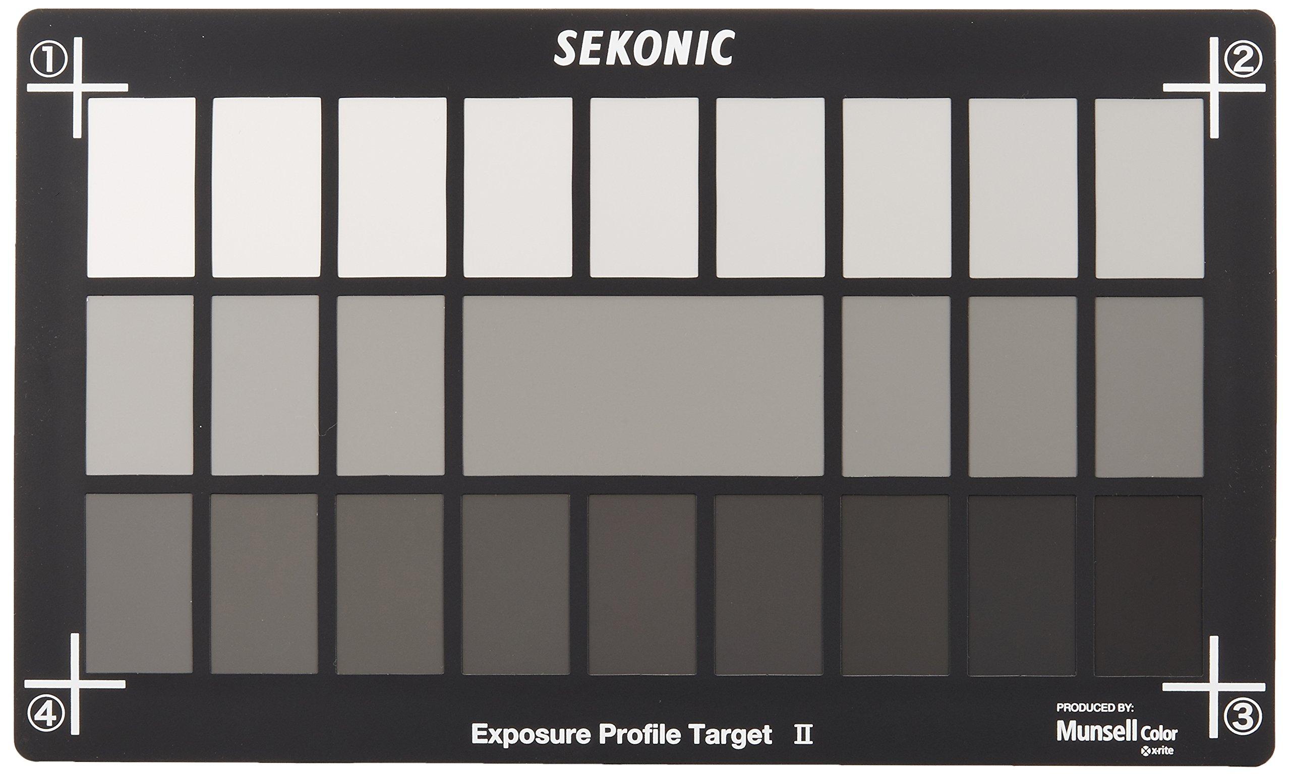 Sekonic Corporation 401-757 Exposure Profile Target II (Black)