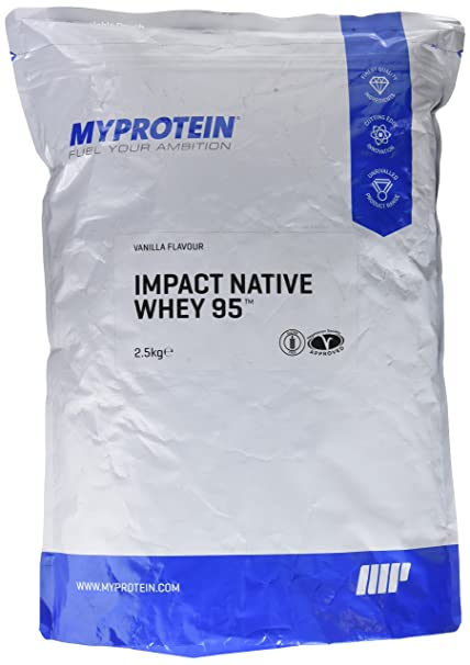 MyProtein Impact Native Whey 95 Aislado de Proteína de Suero ...