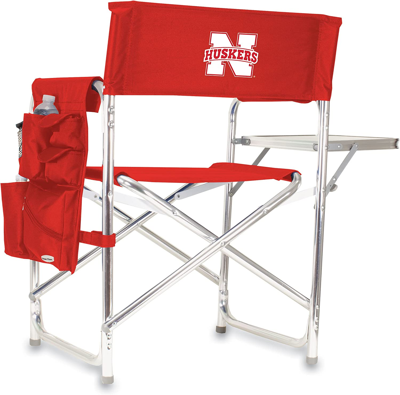 Red ONIVA Sports Chair, a Picnic Time brand Nebraska Cornhuskers