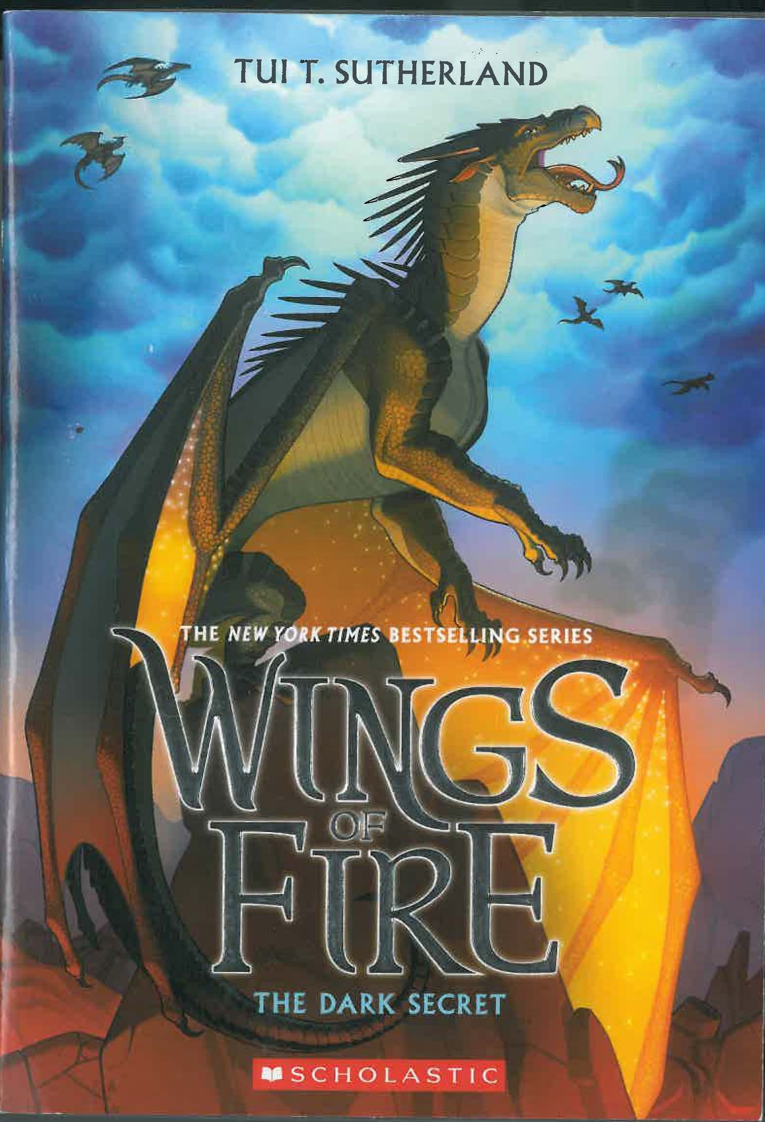 Wings of Fire Book Four: The Dark Secret ebook