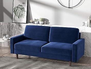 Amazon.com: US Pride Sofás para muebles, color azul oscuro ...