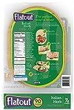 FLATOUT Flatbread - ITALIAN HERB - 90 Calories - 2