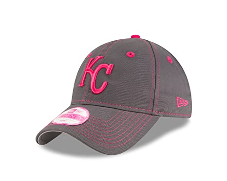 super popular 55501 ca53d Image Unavailable. Image not available for. Color  New Era MLB Kansas City  Royals Women s 2016 Mother s Day 9Twenty Adjustable Cap ...