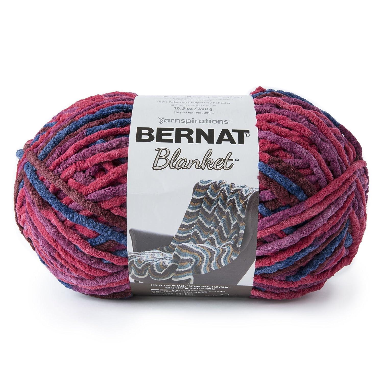 Bernat 16111010810 Blanket BB Yarn, Marrakesh Spinrite