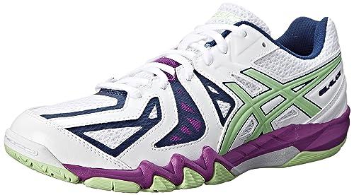 71091bc3c6f0 ASICS Women s Gel Blade 5 Indoor Court Shoe  Amazon.ca  Shoes   Handbags