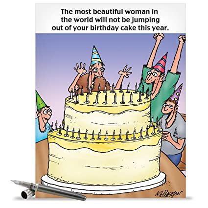 Amazon hilarious happy birthday greeting card 85 x 11 hilarious happy birthday greeting card 85quot x 11quot jumbo sizedquot m4hsunfo