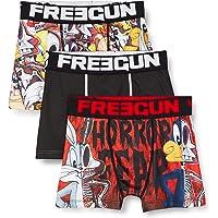 Freegun Boxer para Niños - Looney Tunes Bugs Bunny et Dafy (pack de 3)