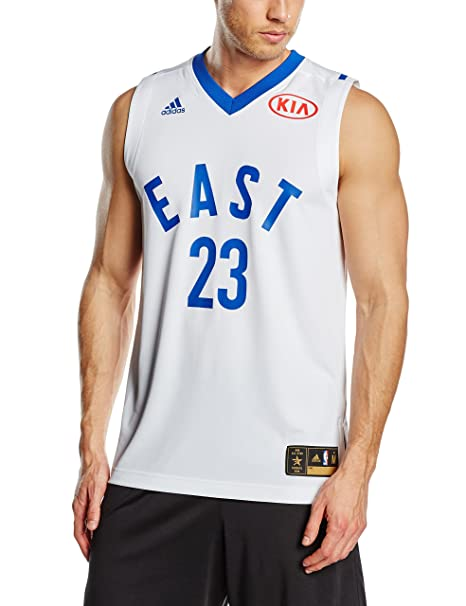 Adidas – Camiseta de Baloncesto para Hombre, diseño NBA All Star Game East Swingman