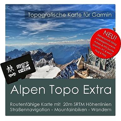 alpen Garmin tarjeta Topo extra - 8 GB MicroSD. (Alemania ...
