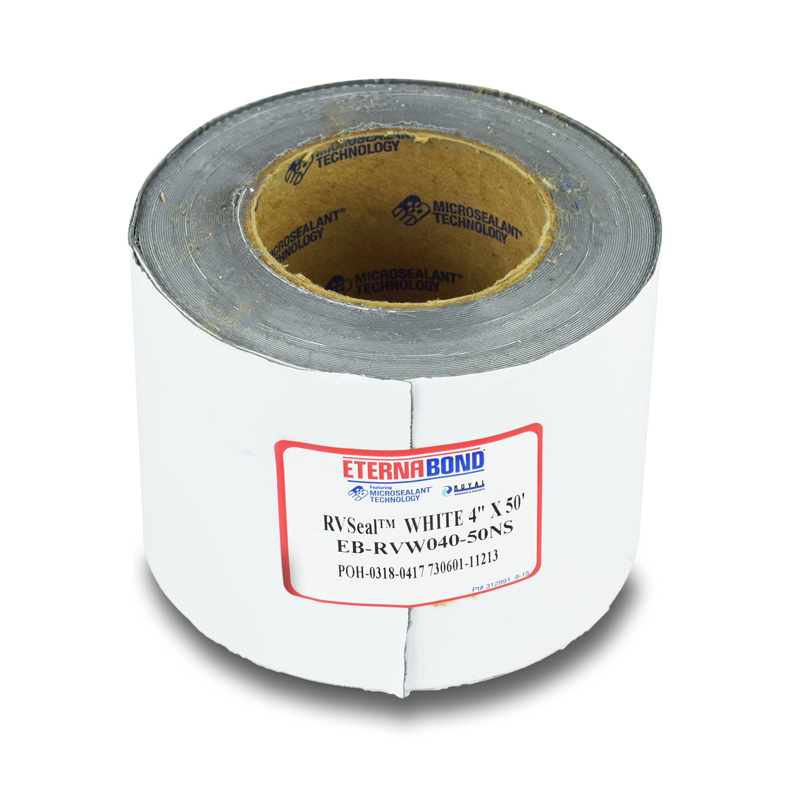EternaBond RV Mobile Home Roof Seal Sealant Tape & Leak Repair Tape 4'' x 50' Roll White Authentic (4''-50ft) by EternaBond