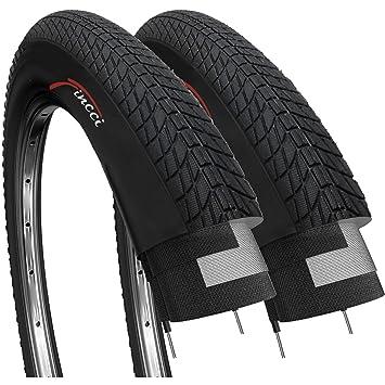 Fincci Par 20 x 1,75 Pulgadas 47-406 Cubiertas para BMX o Niños Bici Bicicleta (Paquete de 2): Amazon.es: Deportes y aire libre