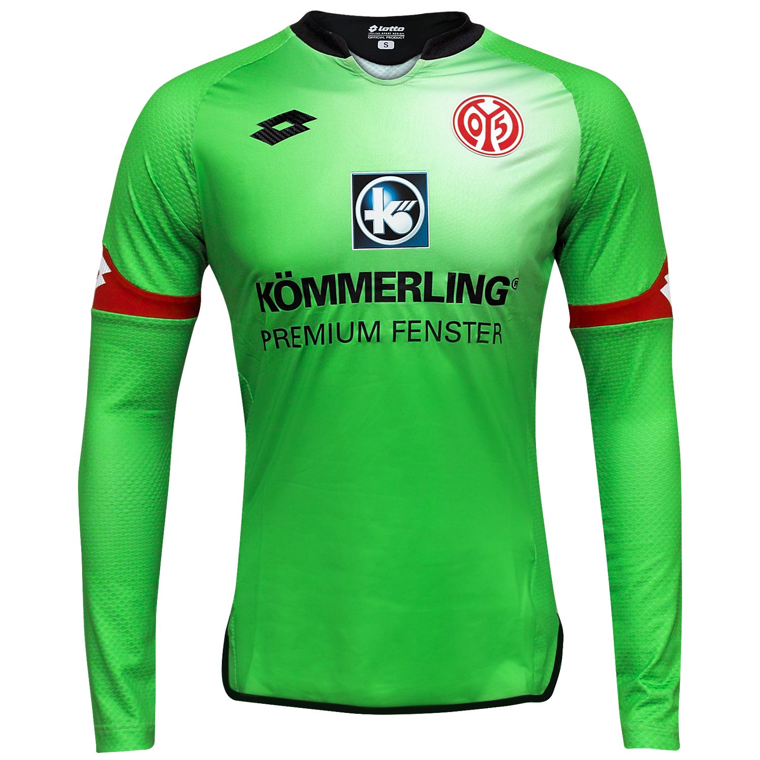 Mainz 05 L / S Goalkeeper Jersey 2015 / 2016 – グリーン B015ZN5Q4GM