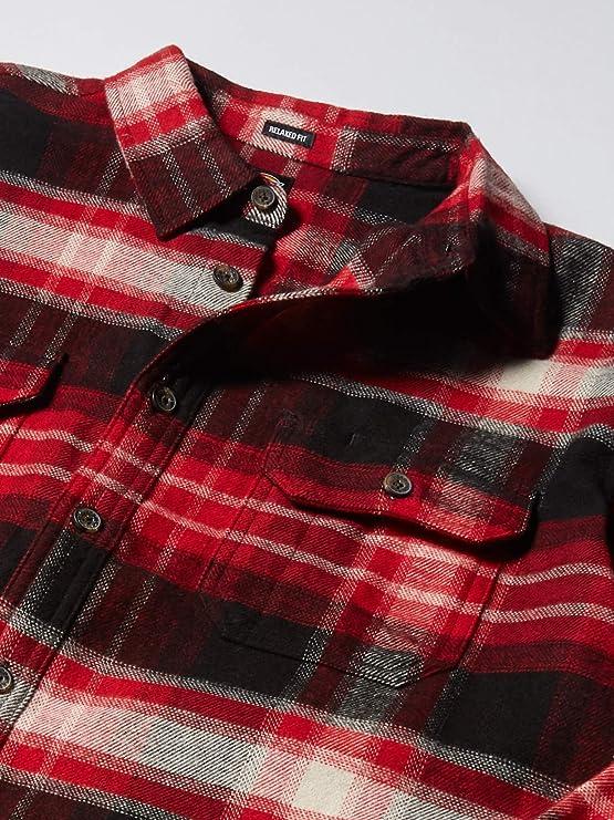 Dickies Men/'s Flex chemise en flanelle mi-poids WL650 Moisture Wicking