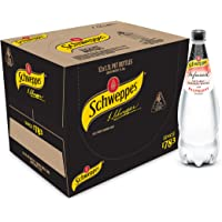 Schweppes Infused Natural Mineral Water with Raspberry, 12 x 1.1L