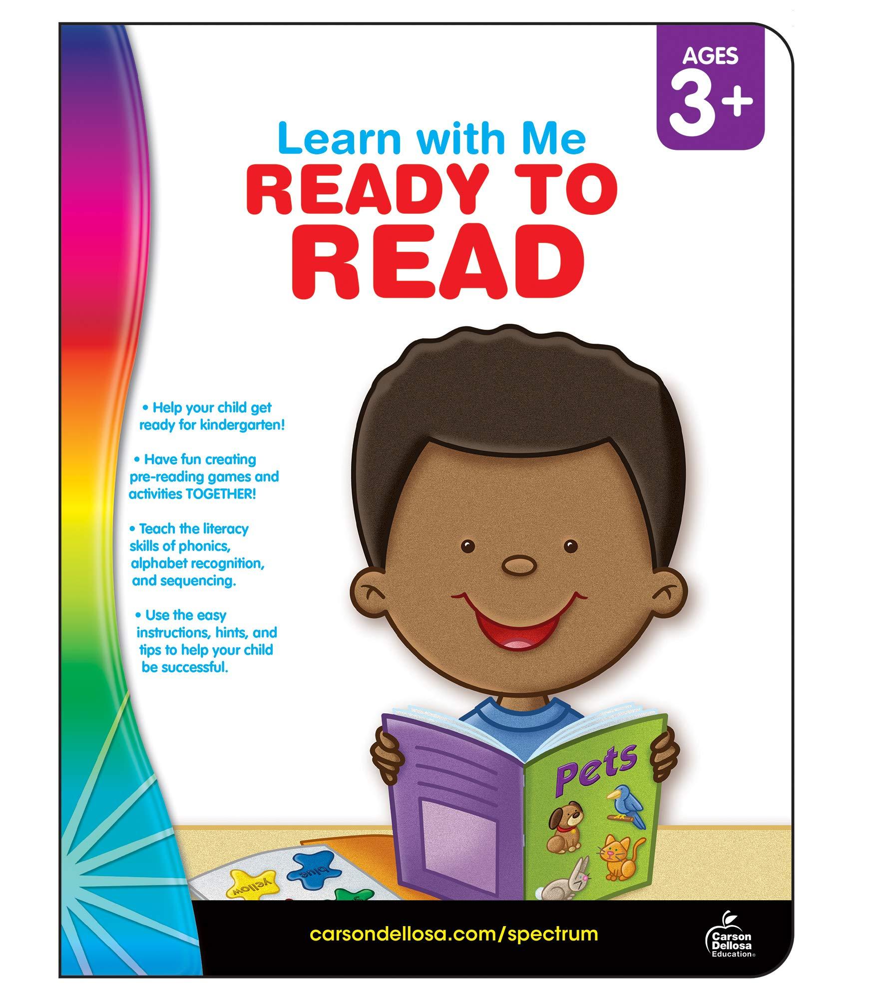 Spectrum Ready To Read Workbook Preschool Kindergarten 80pgs Learn With Me Spectrum 0044222211035 Amazon Com Books [ 2000 x 1750 Pixel ]