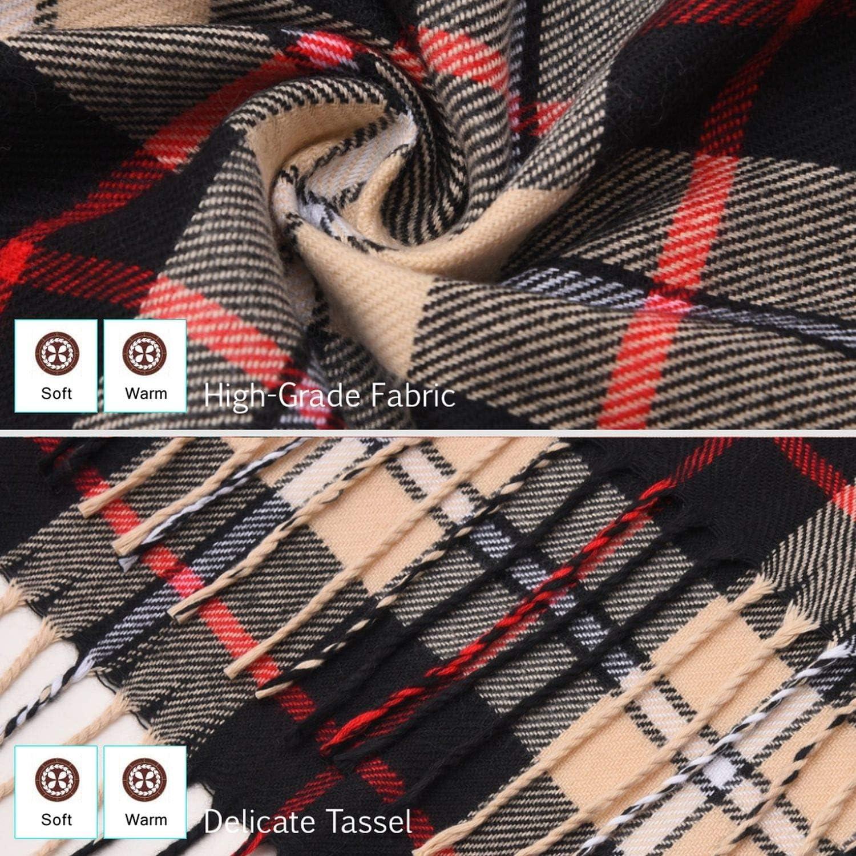 2019 Luxury Design Men Scarf Plaid Scarves Poncho Casual Winter Scarfs Male