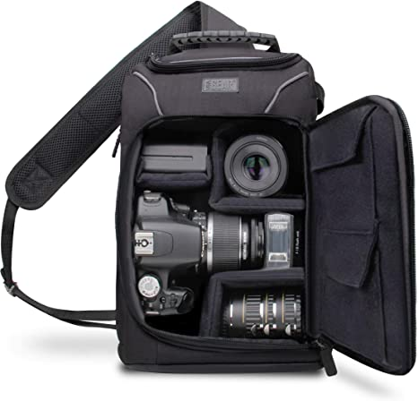 Large DSLR Outdoor Waterproof Camera Backpack Shoulder Bag For Canon Niko VQ