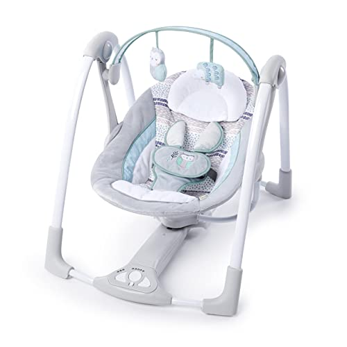 Ingenuity Power Adapt Portable Swing - Best Portable Baby Swings With AC Adapter
