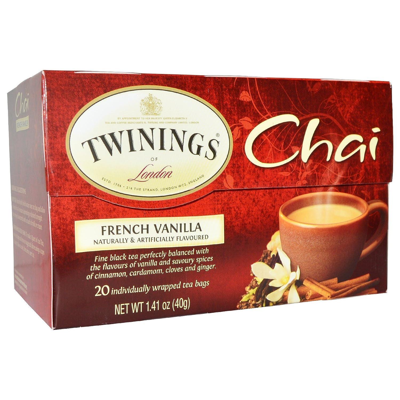 Amazon com : Twinings, Chai, French Vanilla, 20 Tea Bags
