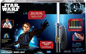 Star Wars Science Multicolor Lightsaber Room Light - Uncle Milton