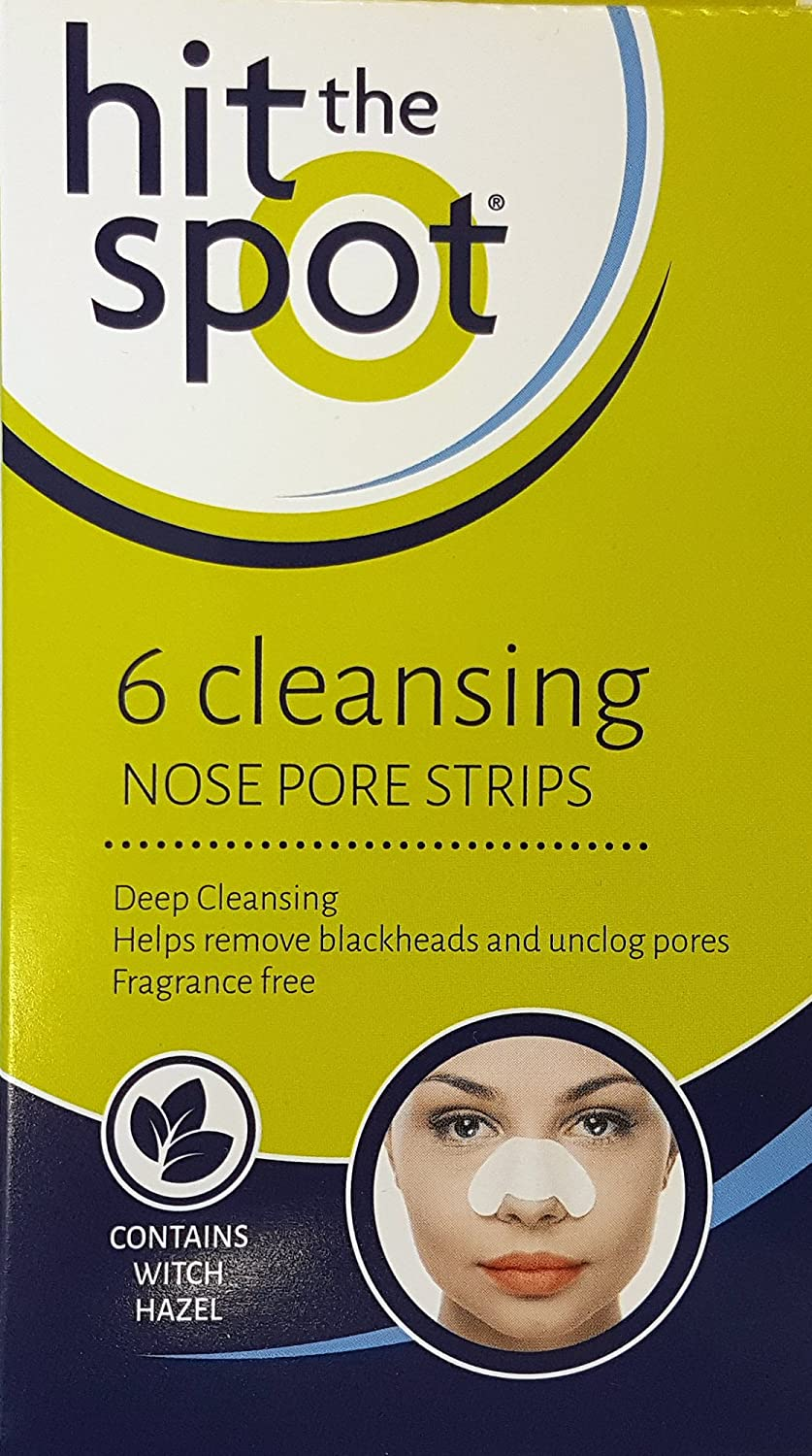 Hit The Spot Deep Cleansing Nose Pore Strips - Pack of 6