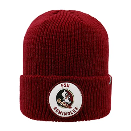 efcf3247584ac Image Unavailable. Image not available for. Color  Top of the World Florida  State Seminoles Official NCAA Cuffed Knit Wharf Beanie ...